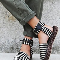 FP Collection Womens Aurora Espadrille