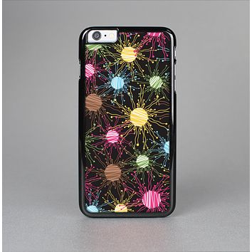 The Bright Loopy Circle Extract Skin-Sert Case for the Apple iPhone 6 Plus
