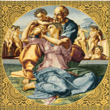The Holy Family Tapestry Wall Art Hanging