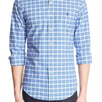 Polo Ralph Lauren Trim Fit Plaid Oxford Sport Shirt | Nordstrom