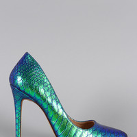 Liliana Holographic Mermaid Pump