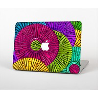 The Colorful Segmented Wheels Skin for the Apple MacBook Air 13""