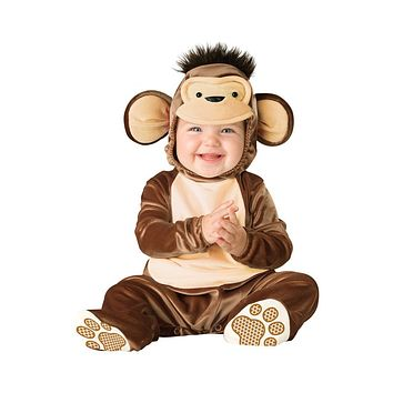 Halloween Baby Infant Monkey Romper Kids Onesuit Suit Animal Costume Novelty Shapes Child autumn and winter Clothing