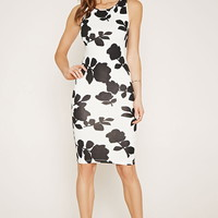 Contemporary Floral Dress | Forever 21 - 2000170336
