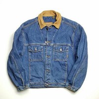 Men's Size Large Timberland Denim Jacket