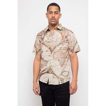 Global Map Button Up