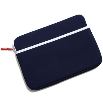 Anchor Neoprene Laptop Sleeve Blue Print / Red