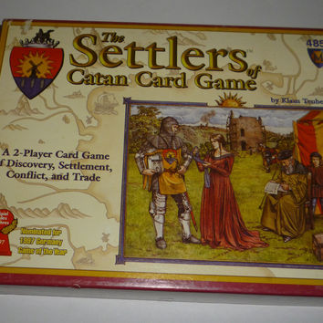 The Settlers Catan Card Game