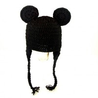 Mickey Mouse Earflap Hat from Disney, please send size