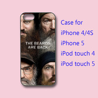 Duck Dynasty , the beards are back -- iPhone 4  case, iphone 4s case,iphone 5 Case ipod 4 / 5 case for choice