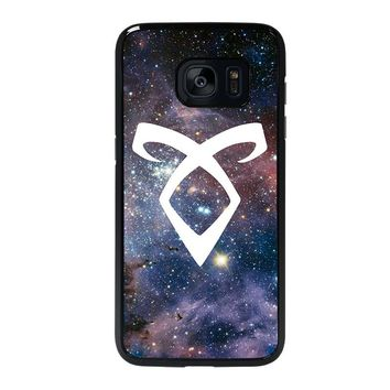 SHADOWHUNTERS ANGELIC RUNE NEBULA Samsung Galaxy S7 Edge Case Cover