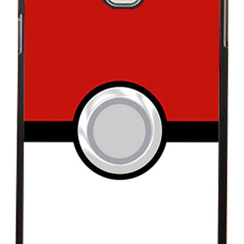 Pokemon Pokeball Samsung Galaxy Note 3 Cases - Hard Plastic, Rubber Case