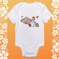 Sofia The First shirt baby Onesuit,  Sofia The First baby Onesuit, shirt baby Onesuit, baby Onesuit