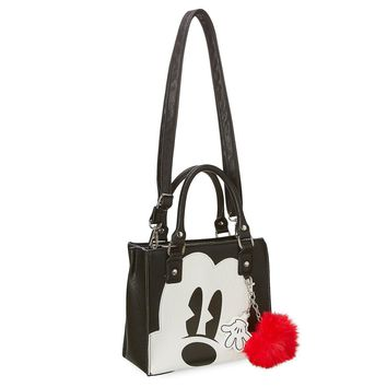 Disney Parks Peek-a-Boo Mickey Mouse Crossbody Bag by Loungefly New with Tags