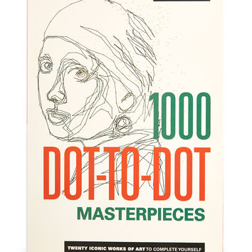 1000 Dot-to-Dot Masterpieces Paperback