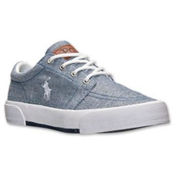 Boys' Grade School Polo Ralph Lauren Faxon Casual Shoes