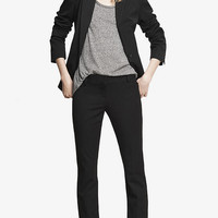 STUDIO STRETCH BARELY BOOT COLUMNIST PANT from EXPRESS