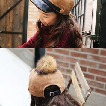 Furry Schoolboy Hat