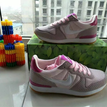 """""""NIKE"""" Fashion Casual Multicolor Breathable Comfortable Unisex Sneakers Couple Running Shoes"""