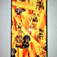 SWEET LORD O'MIGHTY! DACHSHUND N FRIES IPHONE COVER