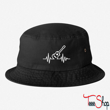 Guitar 7 bucket hat