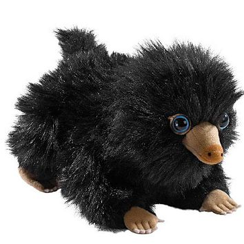 Universal Studios The Crimes of Grindelwald Baby Black Niffler Small Plush New