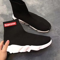 Balenciaga Stretch fabric, casual sports shoes, socks boots G