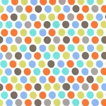 Circus Dot Designer Fabric by the Yard | 100% Cotton