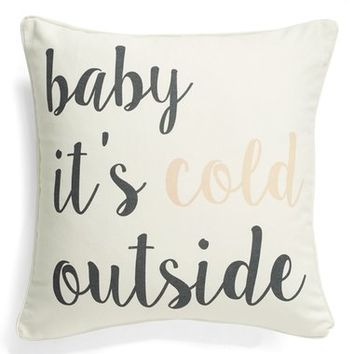 Levtex 'Baby It's Cold Outside' Accent Pillow | Nordstrom