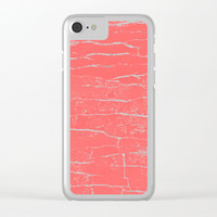 lobster stone Clear iPhone Case by Julius Marc
