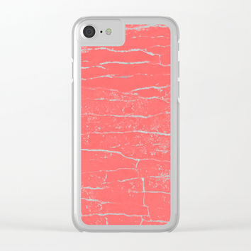 lobster stone Clear iPhone Case by Julius Marc 792bc92ecae4