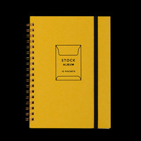 UNIONMADE - GIFTSHOP - Stock 12 Pocket Album in Yellow