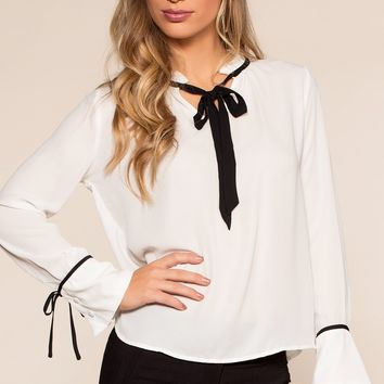 No Loose Ends Top - White