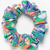 American Apparel - Watercolor Nylon Tricot Scrunchie
