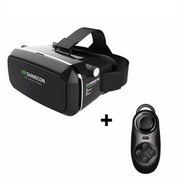 Virtual Reality Mobile 3D Headset BOX  With Controller