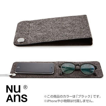NuAns MAGMAT Foldable Mat with Cable Holder (Black)