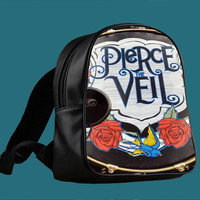 Pierce The Veil Pedal Drum for Backpack / Custom Bag / School Bag / Children Bag / Custom School Bag *