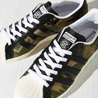 adidas Originals X Clot Superstar Sneaker- Black Multi W