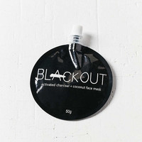 Blackout Activated Charcoal + Coconut Mask - Urban Outfitters
