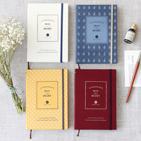 2015 Iconic Un jour de reve day dated diary scheduler