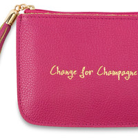 Change For Champagne Pouch