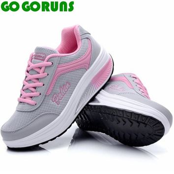 outdoor women running shoes swing platform ladies trainers fitness running shoes women ankle boots sneakers zapatillas mujer 198