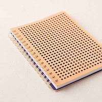 Mini Perforated Journal - Urban Outfitters