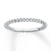 925 Sterling Silver Bead Ring Stacking Ring Thumb Ring Midi Ring Silver Ring Ball Ring Gift Idea For Her Affordable Jewelry Trending Ring