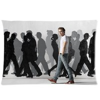 America Hot Star & Music Singer Hunter Hayes Personalized Custom Soft Rectangle Pillow Case Cover 20X30 (One Side)