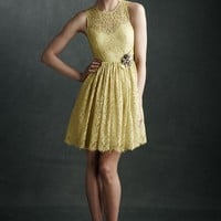 Limoncello Lace Dress in the SHOP Dresses at BHLDN