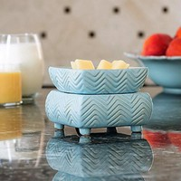 Chevron Candle Warmer 2-in-1