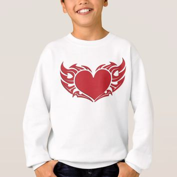 Winged Heart Sweatshirt