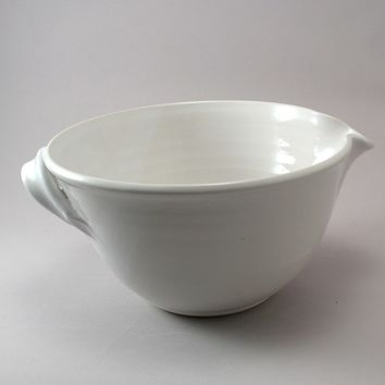 Pottery Mixing Bowl