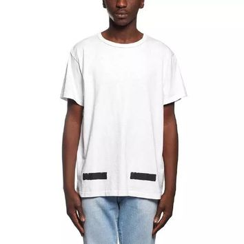 Cheap Women's and men's OFF-WHITE t shirt for sale 85902898_0184